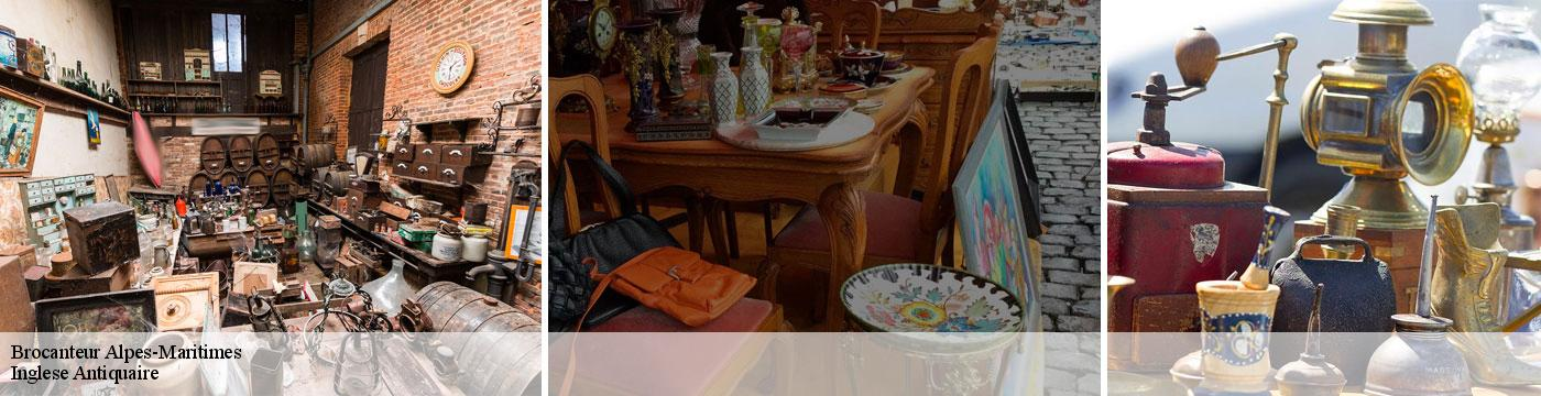 Brocanteur 06 Alpes-Maritimes  Inglese Antiquaire